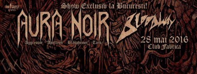 Aura Noir & Bloodway @ Fabrica