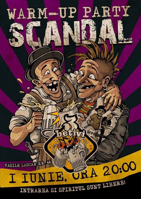 Warm-up Party: Scandal Streetpunk