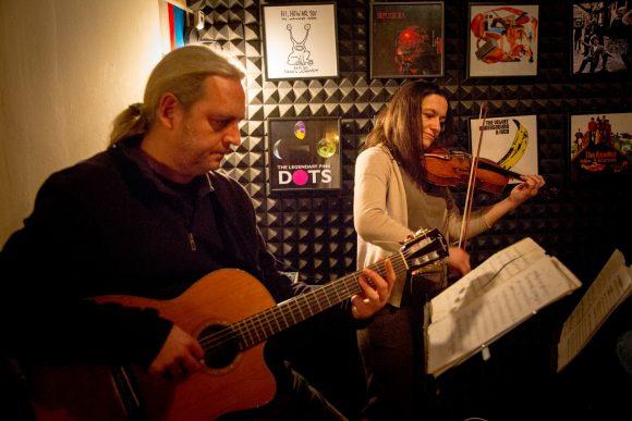 Floydisme si Zeppelisme cu vioara si chitara