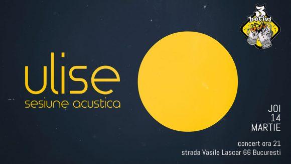 Ulise – sesiune acustica