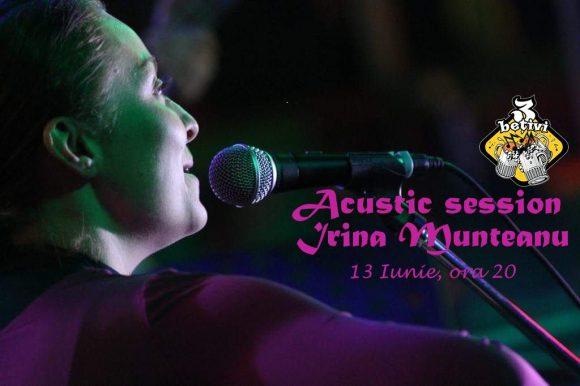 Acustic session cu Irina Munteanu