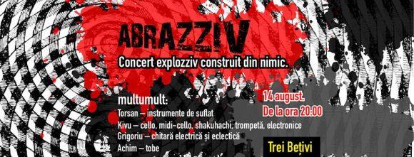 ABRAZZIV, concert Multumult