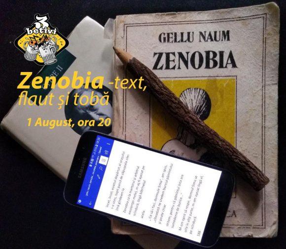 Lecturi din Zenobia cu flaut si toba